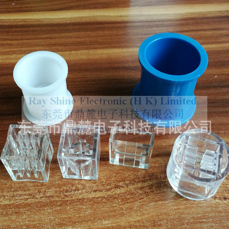 The disposable crystal mould
